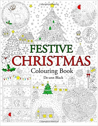 Festive Christmas Colouring Book
