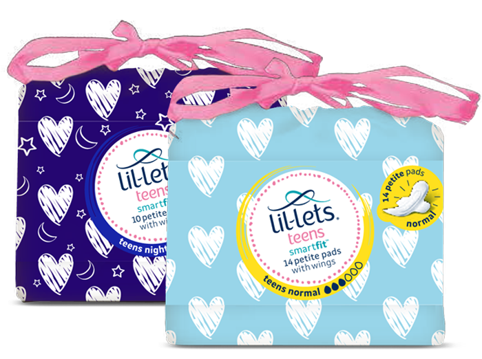 Lil-lets Teens Sanitary Towels
