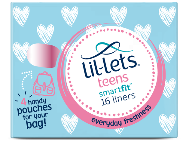 Lil-lets Teens Panty Liners