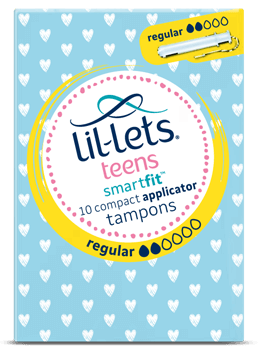 Lil-lets Teens Regular Applicator Tampons