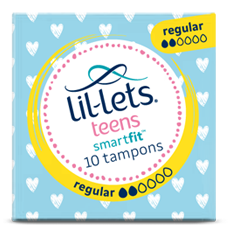 Lil-lets Teens Non-applicator Regular Tampons