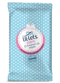Lil-lets Teen Wipes