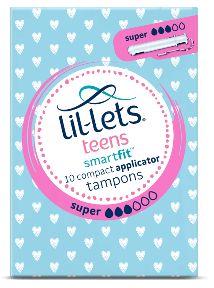 Lil-lets Teens Super Applicator Tampons